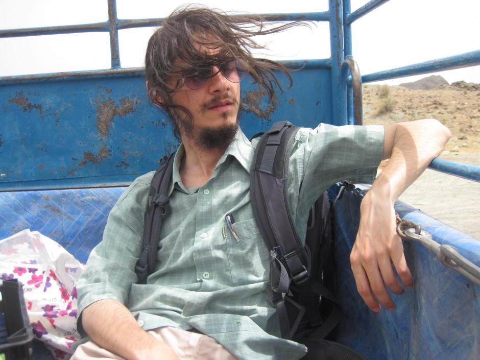 Hitchhiking through the desert