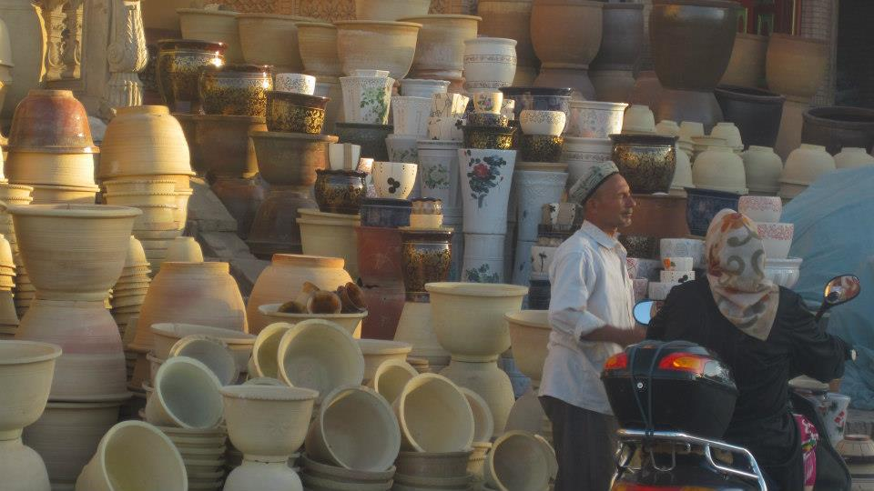 And this guy on the street selling millions of his clay pots, has probably never noticed.