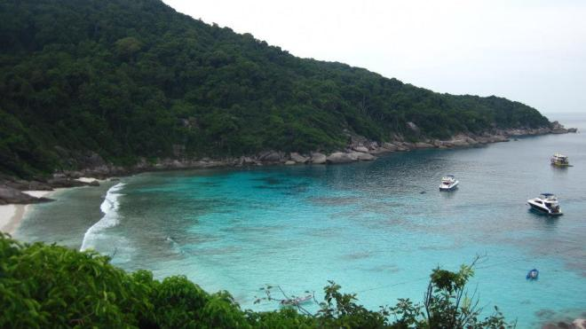 Those blue lagoons that you dream about, Similan islands