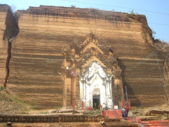 So there was one dude who decided to build the biggest pagoda in the world. It took his slaves 25 years to finish the foundation, and then the dude died. End of story.